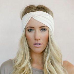 Ivory Turban Headband
