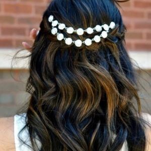 T&J Designs Accessories - Luxe Double Chain Hair Comb