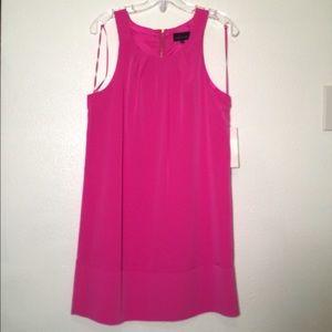 Pink Shift Dress 🌺