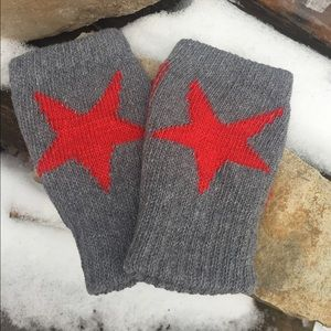 Accessories - Fingerless gloves, star fingerless gloves