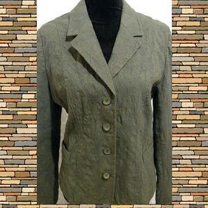 croft & barrow Jackets & Blazers - Olive Blazer / Jacket