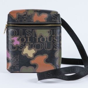 Tous Handbags - TOUS Small KAOS Print Crossbody Bag