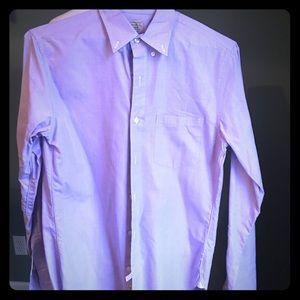 J. Crew Purple Button Down Shirt