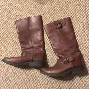 Steve Madden Shoes - Steve Madden brown leather boots