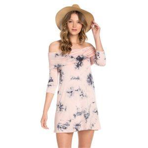The Blossom Apparel Dresses & Skirts - 🎉HP🎉 (S-M-L) Tie dye print dress