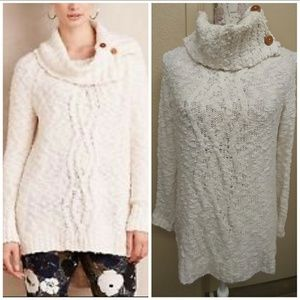 Anthropologie Sweaters - 🎉🆑🎉MOTH ANTHRO. OVERSIZED TURTLE NECK