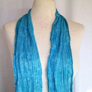 2for1 SHIMMERY Tinsel Scarf