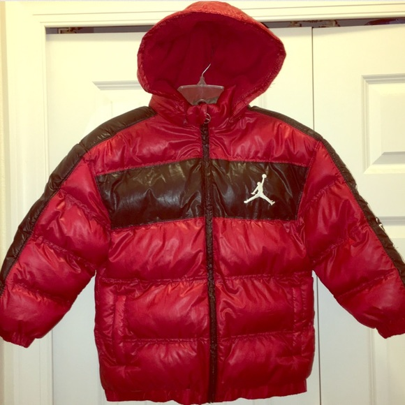 Jordan Jackets Coats Puffer Jacket Kids Size Small Poshmark