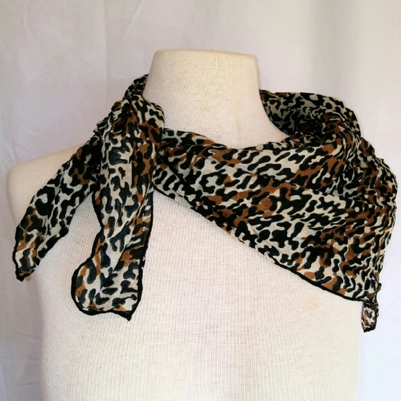 Vintage Accessories - 2for1 ANIMAL Print Scarf