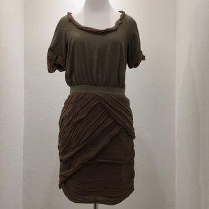 Diane von Furstenberg Dresses & Skirts - Diane von Furstenberg Cocktail Brown Dress size 4