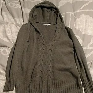Old navy sweater with hood