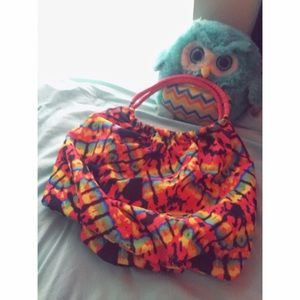 Handbags - 👽large tie dye purse 👽