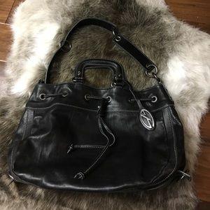 Francesco Biasia Handbags - Francesco Biasia black leather purse
