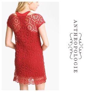 Ella Moss Cayenne Crochet Dress