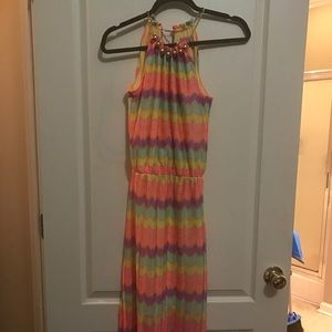 Maxi Lilly Pulitzer dress
