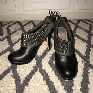 Zigi Soho Shoes - Zigi Soho Black Bootie Heels