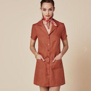 Reformation Dresses & Skirts - *Flash Sale* Reformation dress short sleeve red 0