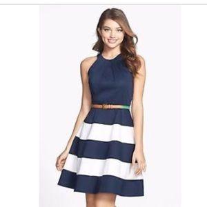 Eliza J Dresses & Skirts - Eliza J. Cotton-sateen dress