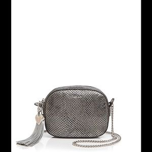 Furla Cuore Medium Metallic Crossbody