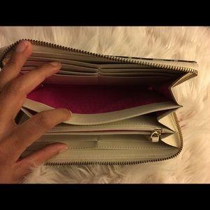 kate spade Bags - Kate spade black grey animal print wallet
