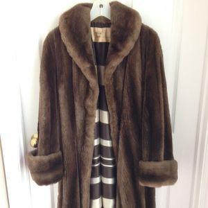Franklin Simon 5th Avenue Jackets & Blazers - Franklin Simon 5th Avenue Beaver Coat