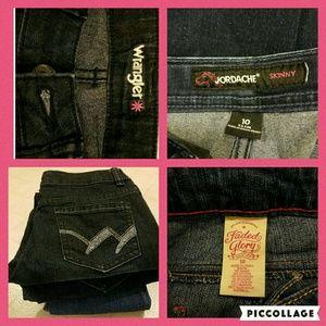 Wrangler Other - Three little girl jeans