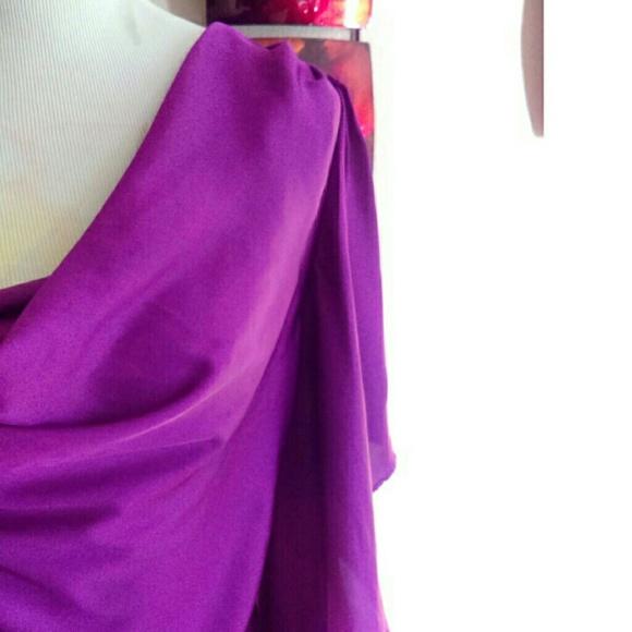 Filtre Tops - Purple Flutter Sleeve Top