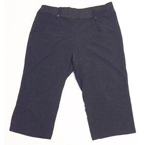 Planet Motherhood Pants - Maternity Capri Length Dress Work Pants Slacks 1X