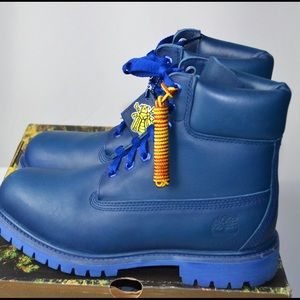 Timberland X Bee Line Blue 6' Boot Pharrell BBC