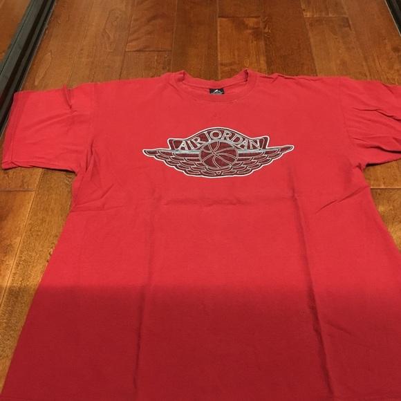 8b49575ac85 Jordan Shirts | Used Wings Tshirt | Poshmark