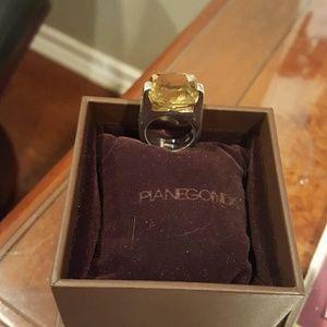 Jewelry - Pianegonda Smokey Topaz ring in silver