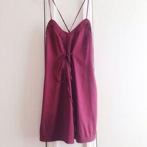 Urban Outfitters Dresses & Skirts - Urban Outfitters Silk Front Tie Dress