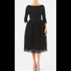 eshakti Dresses & Skirts - New Eshakti Fit & Flare Tulle Midi Dress M 8