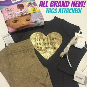 Gymboree Other - ⚡️SALE! ✨4 BRAND NEW ITEMS WITH TAGS ATTACHED!✨