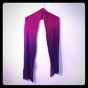 Accessories - NWT Gradient Chenille-Like Scarf