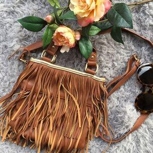 Steve Madden Handbags - HP🎉Steve Madden Fringed Crossbody Bag
