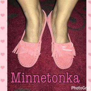 Minnetonka Shoes - Minnetonka Coral Moccasin Flats Sz 7.5