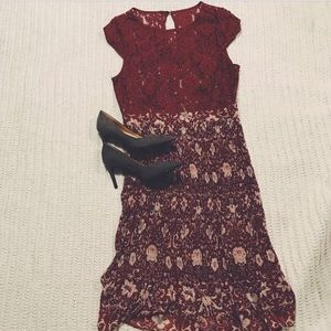 a70d5c3dd587 Plenty by Tracy Reese Dresses - PRICE 🔪 Anthropologie Arcadia Midi Dress