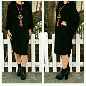 "Classic Woman Dresses & Skirts - 🔥PRICE DROP🔥DOLMAN SLEEVE ""LOOSE FIT"" DRESS"