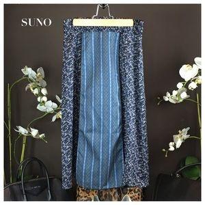 SUNO Dresses & Skirts - SUNO Patterned Skirt