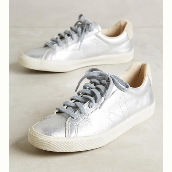Veja Shoes | Veja Metallic Sneakers