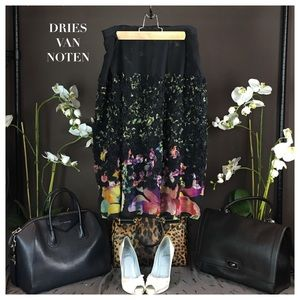 Dries Van Noten Dresses & Skirts - DRIES VAN NOTEN SILK SKIRT