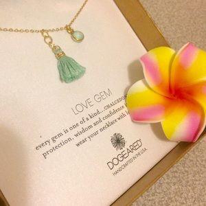 Dogeared Jewelry - Dogeared Love Gem necklace