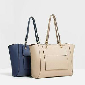Zara large tote bag (8505)