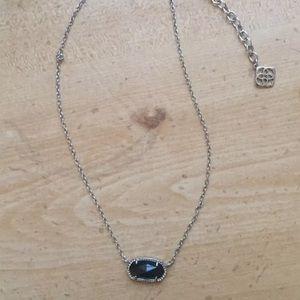 Kendra Scott necklace - black