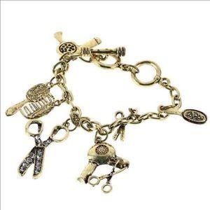 Jewelry - Hair stylist charm bracelet