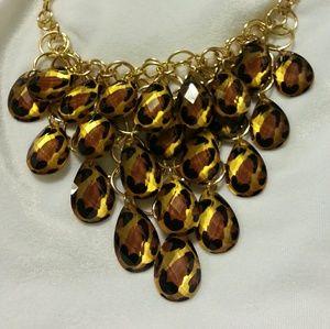 Diane Gilman Jewelry - Gorgeous Leopard Bib Necklace