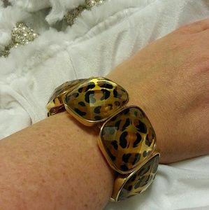Diane Gilman Jewelry - Gorgeous Leopard Print Bracelet