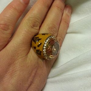 Diane Gilman Jewelry - Leopard Print Cocktail Ring