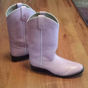 Masterson Boot Company Other - REDUCED! Women/Girls Pink Leather Boots